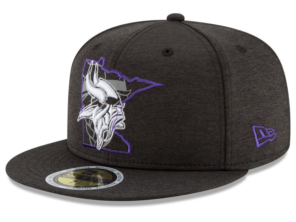 Minnesota Vikings New Era NFL State Flective 59FIFTY Cap  e4bf72d3614c