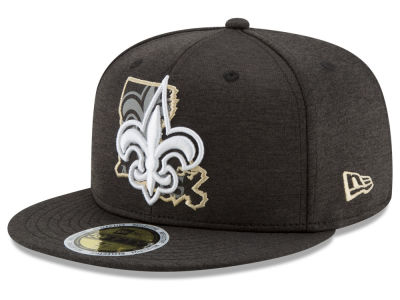 New Orleans Saints New Era NFL State Flective 59FIFTY Cap
