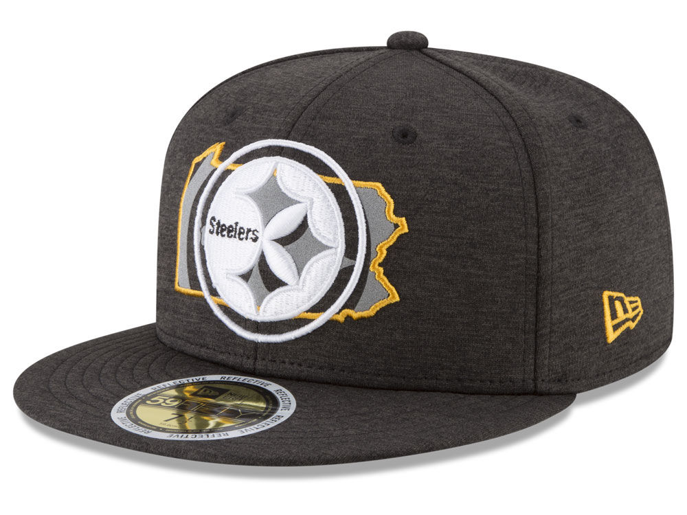 5ad96d71ccf Pittsburgh Steelers New Era NFL State Flective 59FIFTY Cap