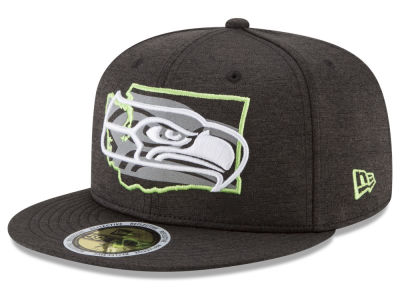 Seattle Seahawks New Era NFL State Flective 59FIFTY Cap
