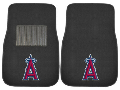 Los Angeles Angels Fan Mats 2-Piece Embroidered Car Mat Set
