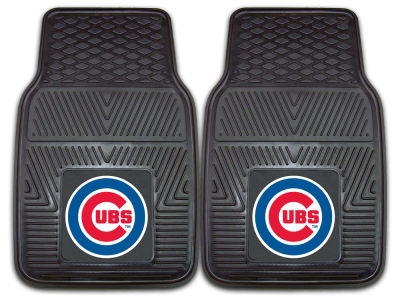 Chicago Cubs Fan Mats 2 Piece Vinyl Car Mat Set