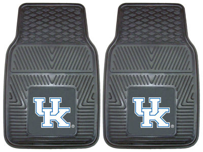 Kentucky Wildcats Fan Mats 2 Piece Vinyl Car Mat Set
