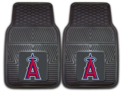 Los Angeles Angels Fan Mats 2 Piece Vinyl Car Mat Set