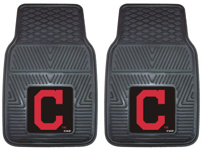 Cleveland Indians Fan Mats 2 Piece Vinyl Car Mat Set