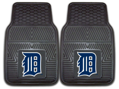Detroit Tigers Fan Mats 2 Piece Vinyl Car Mat Set