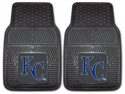 Kansas City Royals Fan Mats 2 Piece Vinyl Car Mat Set