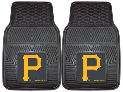 Pittsburgh Pirates Fan Mats 2 Piece Vinyl Car Mat Set