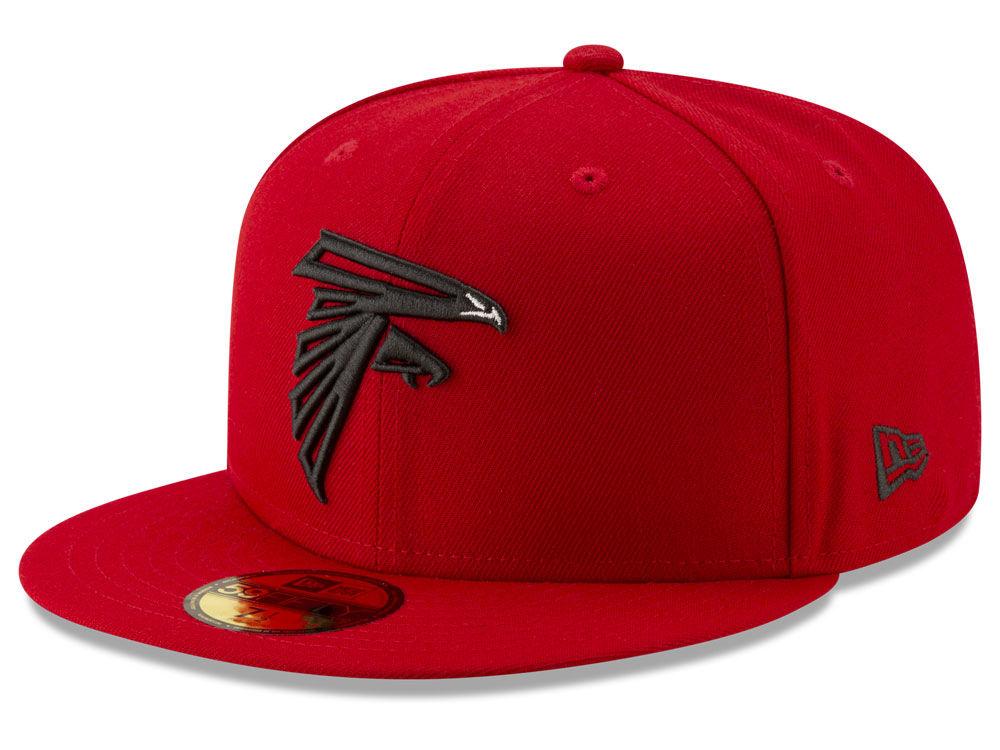 Atlanta Falcons New Era NFL Logo Elements Collection 59FIFTY Cap ... 351f25d93