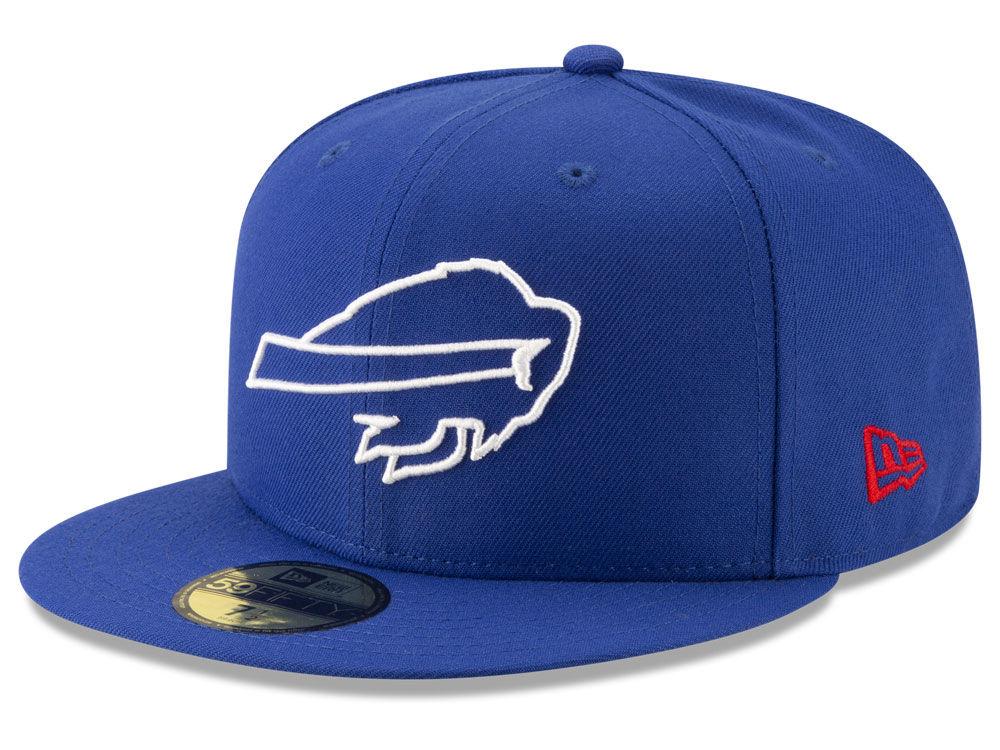 Buffalo Bills New Era NFL Logo Elements Collection 59FIFTY Cap ... 415f0abe28e