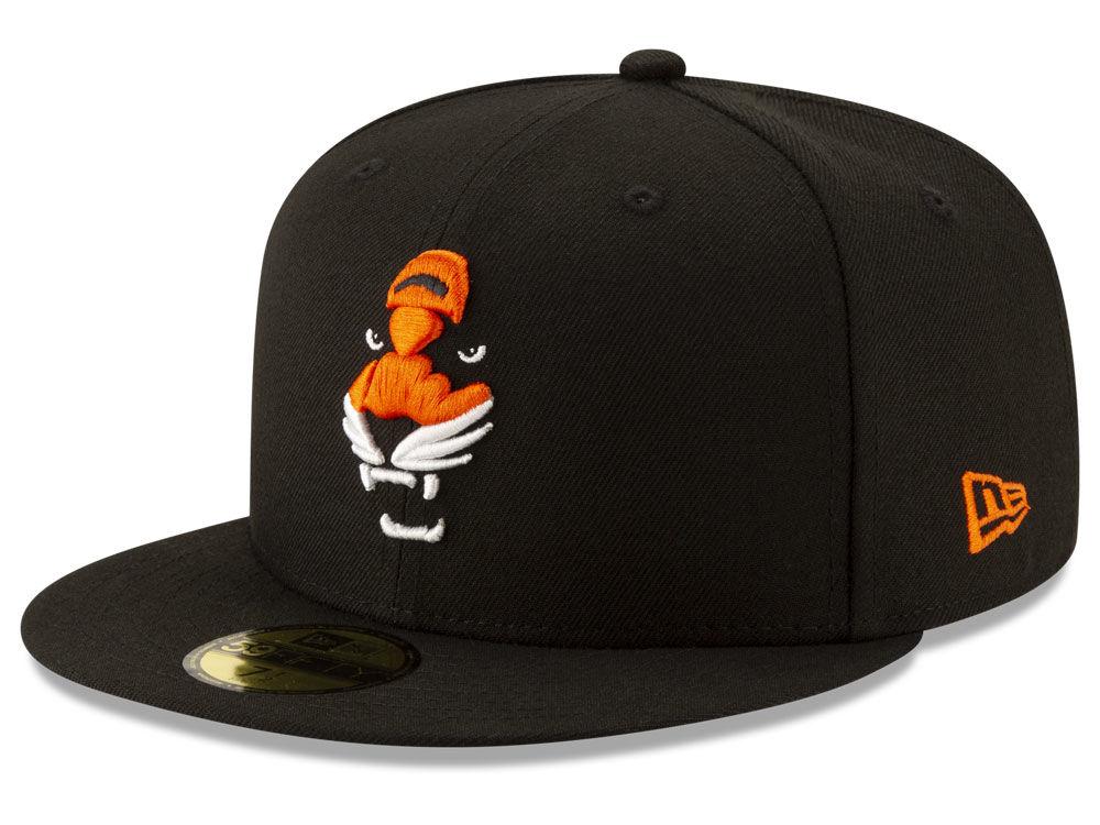 Cincinnati Bengals New Era NFL Logo Elements Collection 59FIFTY Cap ... 4fdef8d0a09