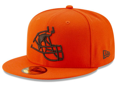 Cleveland Browns New Era NFL Logo Elements Collection 59FIFTY Cap