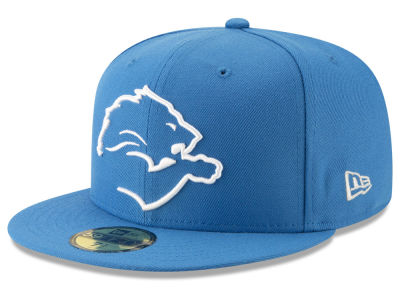 Detroit Lions New Era NFL Logo Elements Collection 59FIFTY Cap