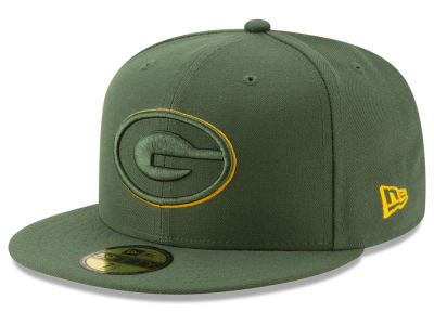 Green Bay Packers New Era NFL Logo Elements Collection 59FIFTY Cap
