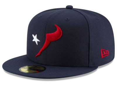 Houston Texans New Era NFL Logo Elements Collection 59FIFTY Cap