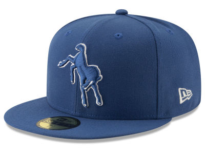8bad9af92 Indianapolis Colts New Era NFL Logo Elements Collection 59FIFTY Cap