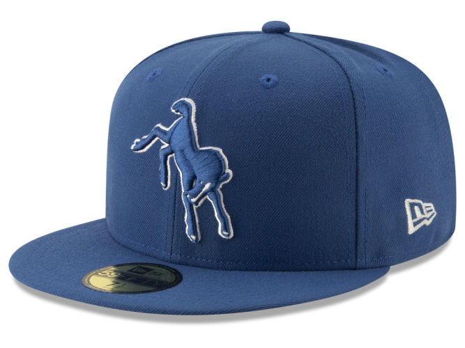 Indianapolis Colts New Era NFL Logo Elements Collection 59FIFTY Cap ... 6c77876112c