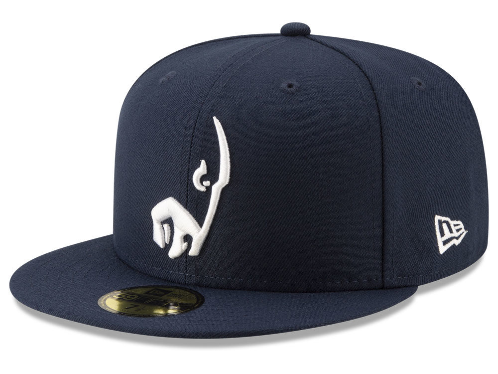 Los Angeles Rams New Era NFL Logo Elements Collection 59FIFTY Cap ... 13f304ee469