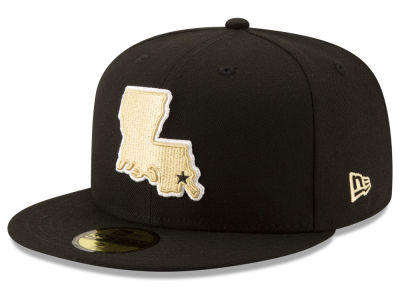 New Orleans Saints New Era NFL Logo Elements Collection 59FIFTY Cap