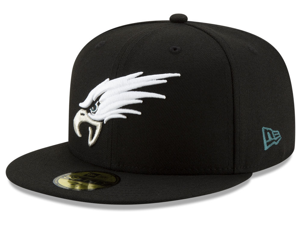 f612b1cf2f3 Philadelphia Eagles New Era NFL Logo Elements Collection 59FIFTY Cap ...