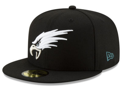 Philadelphia Eagles New Era NFL Logo Elements Collection 59FIFTY Cap b6aaa26f58b7
