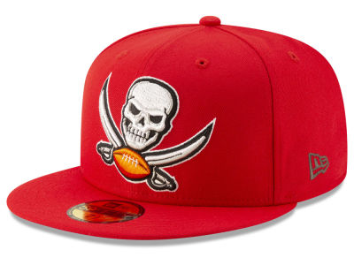 Tampa Bay Buccaneers New Era NFL Logo Elements Collection 59FIFTY Cap