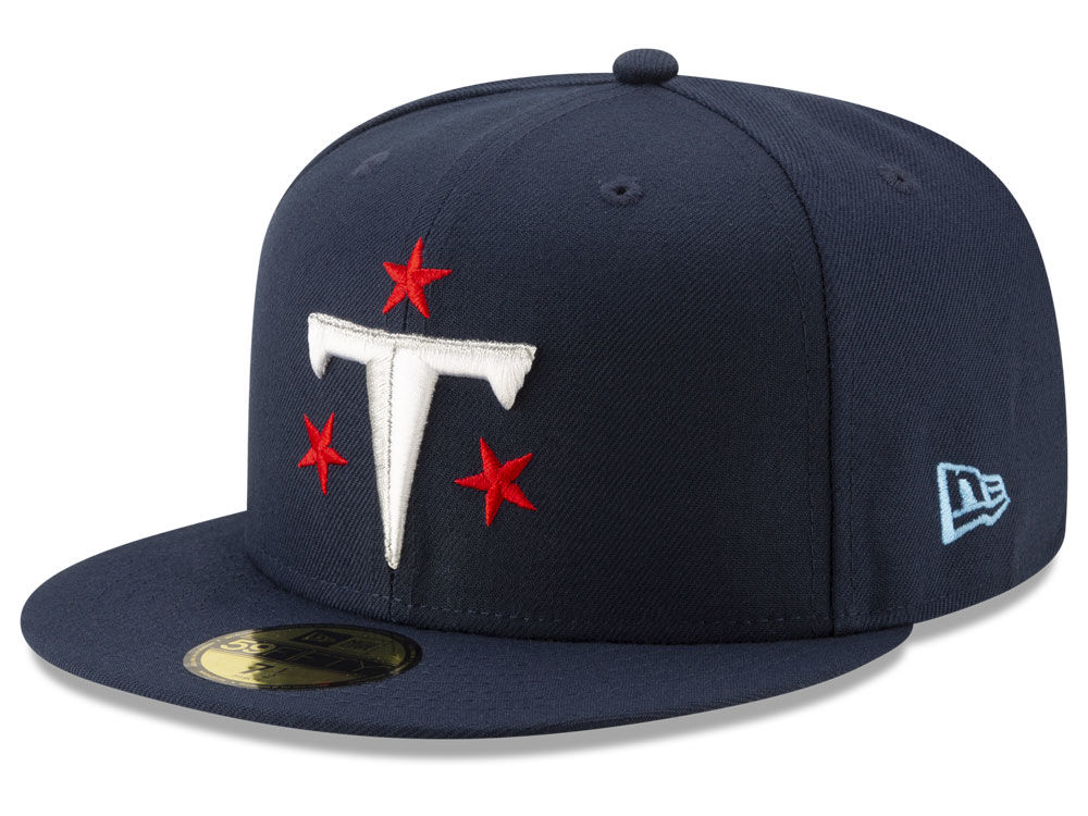 Tennessee Titans New Era NFL Logo Elements Collection 59FIFTY Cap ... c4f81ebba