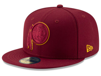 Washington Redskins New Era NFL Logo Elements Collection 59FIFTY Cap