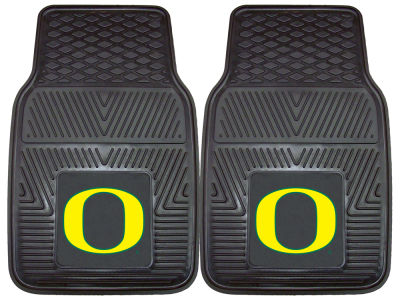 Oregon Ducks Fan Mats 2 Piece Vinyl Car Mat Set