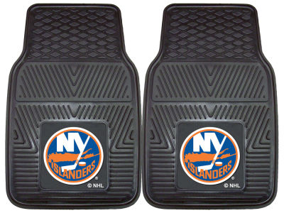 New York Islanders Fan Mats 2 Piece Vinyl Car Mat Set