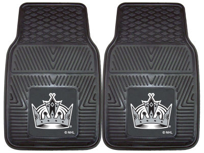 Los Angeles Kings Fan Mats 2 Piece Vinyl Car Mat Set