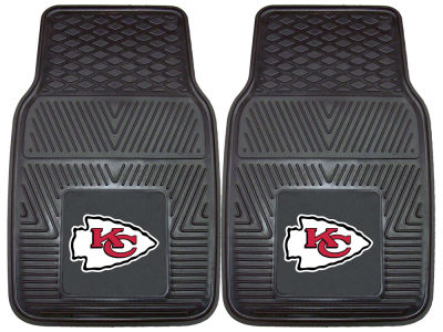 Kansas City Chiefs Fan Mats 2 Piece Vinyl Car Mat Set