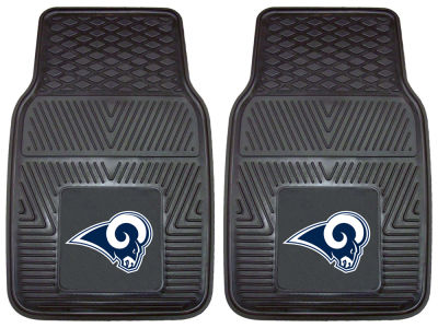 Los Angeles Rams Fan Mats 2 Piece Vinyl Car Mat Set