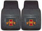Iowa State Cyclones 2 Piece Vinyl Car Mat Set Auto Accessories