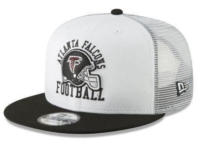 594d020d268 Atlanta Falcons New Era NFL Vintage Mesh Trucker 9FIFTY Snapback Cap