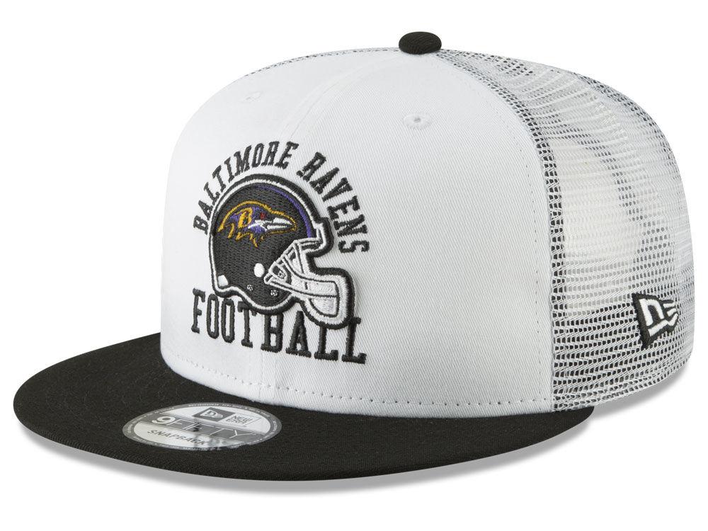 Baltimore Ravens New Era NFL Vintage Mesh Trucker 9FIFTY Snapback Cap  cd1bd7615