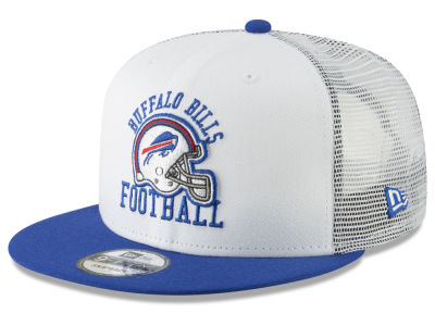 Buffalo Bills New Era NFL Vintage Mesh Trucker 9FIFTY Snapback Cap
