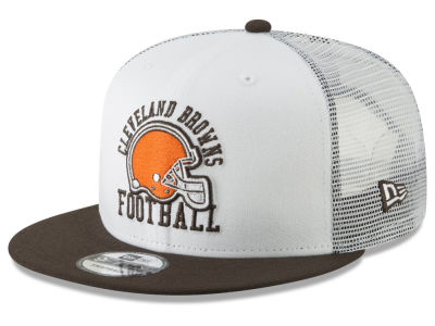 size 40 dff65 d72cf ... clearance cleveland browns new era nfl vintage mesh trucker 9fifty  snapback cap 26970 721cb ...