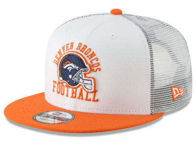 sports shoes dd0bf a4ae0 ... discount denver broncos new era nfl vintage mesh trucker 9fifty  snapback cap 25634 852ea