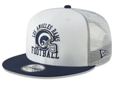 Los Angeles Rams New Era NFL Vintage Mesh Trucker 9FIFTY Snapback Cap