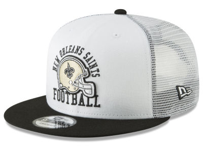 New Orleans Saints New Era NFL Vintage Mesh Trucker 9FIFTY Snapback Cap