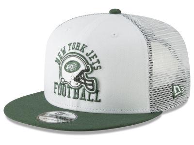 New York Jets New Era NFL Vintage Mesh Trucker 9FIFTY Snapback Cap 6574ca550