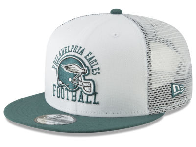 Philadelphia Eagles New Era NFL Vintage Mesh Trucker 9FIFTY Snapback Cap