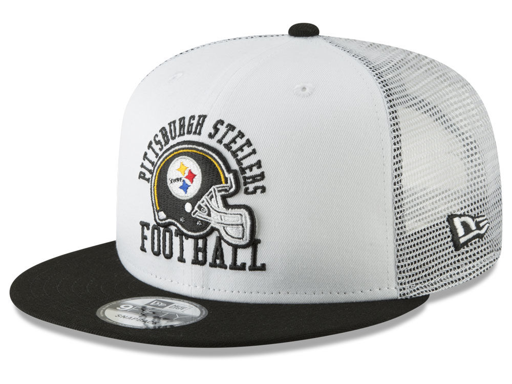 19b7bda53ca8d ... norway pittsburgh steelers new era nfl vintage mesh trucker 9fifty  snapback cap c4817 b7bc1