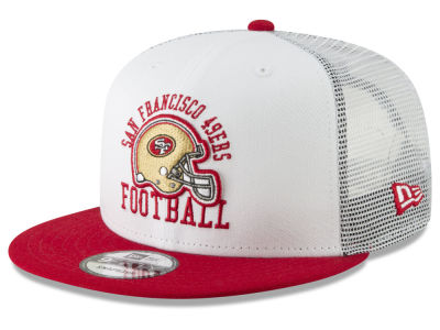 San Francisco 49ers New Era NFL Vintage Mesh Trucker 9FIFTY Snapback Cap