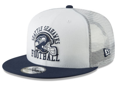 Seattle Seahawks New Era NFL Vintage Mesh Trucker 9FIFTY Snapback Cap