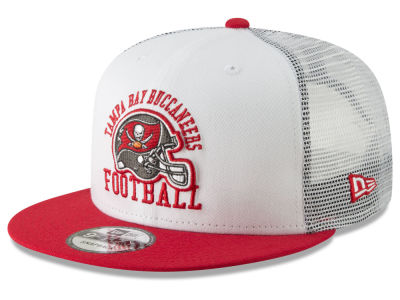 Tampa Bay Buccaneers New Era NFL Vintage Mesh Trucker 9FIFTY Snapback Cap