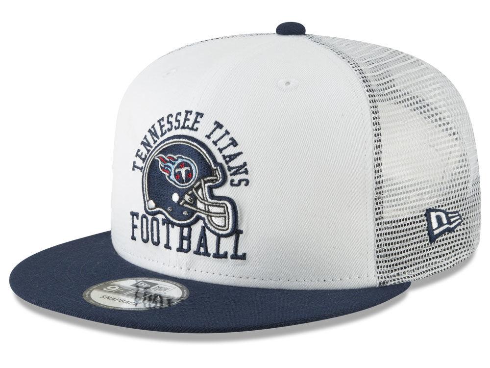 Tennessee Titans New Era NFL Vintage Mesh Trucker 9FIFTY Snapback Cap  61f3d896c1d