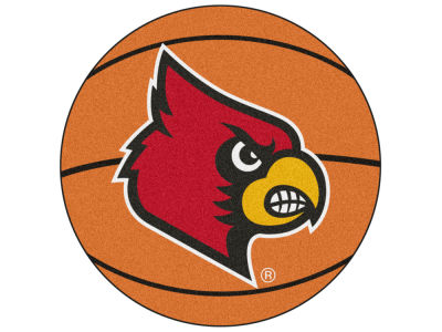 Louisville Cardinals Fan Mats Basketball Mat
