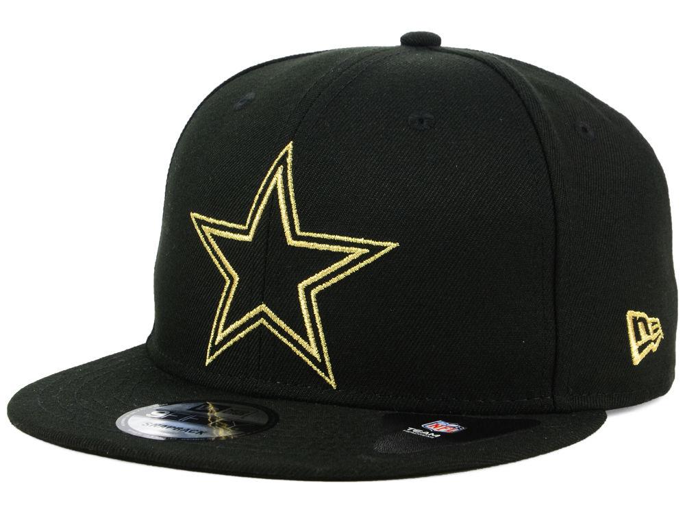 Dallas Cowboys New Era NFL Tracer 9FIFTY Snapback Cap  fb509eafbb1